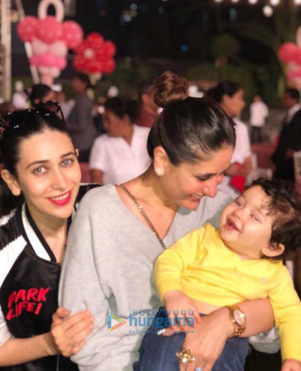 Shah Rukh Khan, AbRam Khan, Kareena Kapoor Khan, Taimur, Karan Johar and others attend Rani Mukerji's daughter Adira's birthday party! (4)