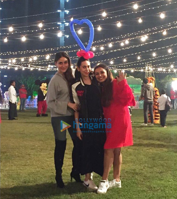 Shah Rukh Khan, AbRam Khan, Kareena Kapoor Khan, Taimur, Karan Johar and others attend Rani Mukerji's daughter Adira's birthday party! (5)