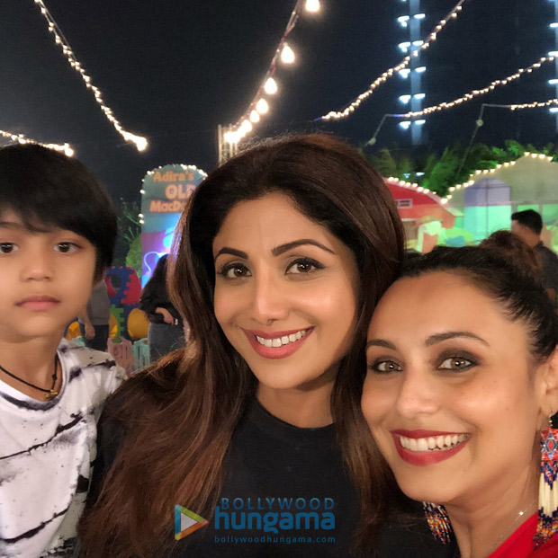 Shah Rukh Khan, AbRam Khan, Kareena Kapoor Khan, Taimur, Karan Johar and others attend Rani Mukerji's daughter Adira's birthday party! (6)