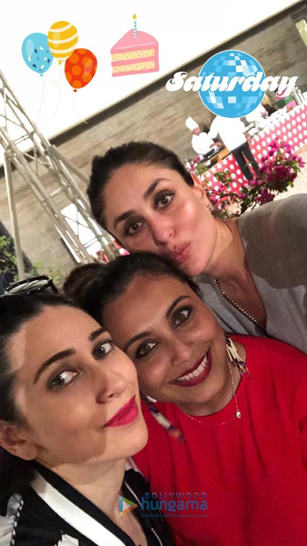 Shah Rukh Khan, AbRam Khan, Kareena Kapoor Khan, Taimur, Karan Johar and others attend Rani Mukerji's daughter Adira's birthday party! (7)