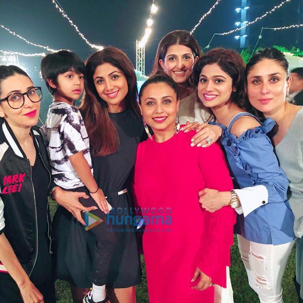 Shah Rukh Khan, AbRam Khan, Kareena Kapoor Khan, Taimur, Karan Johar and others attend Rani Mukerji's daughter Adira's birthday party! (8)