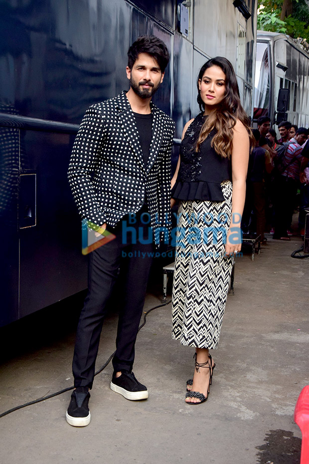 Shahid Kapoor and Mira Rajput twinning in monochrome is the cutest thing you will see today! View Pics (3)