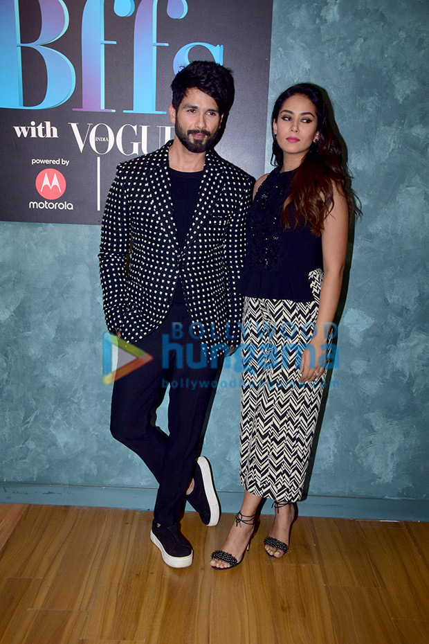Shahid Kapoor and Mira Rajput twinning in monochrome is the cutest thing you will see today! View Pics (4)