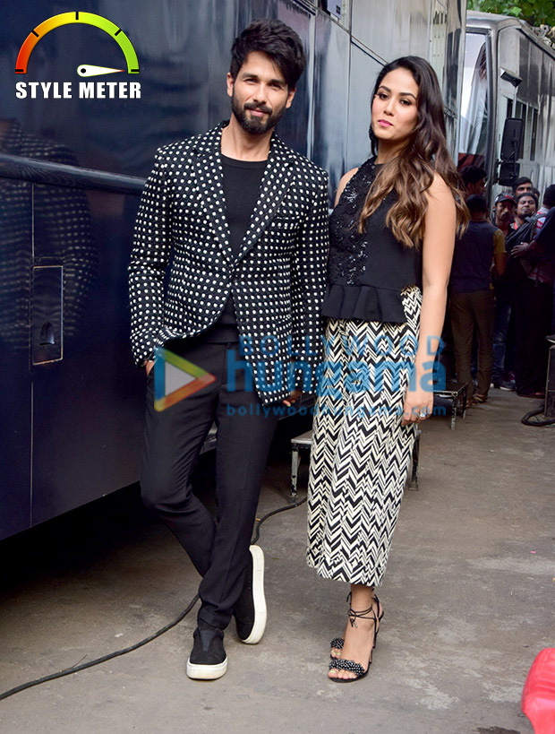 Shahid Kapoor and Mira Rajput twinning in monochrome is the cutest thing you will see today! View Pics (5)