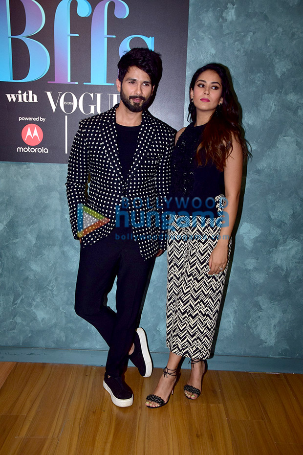Shahid Kapoor and Mira Rajput twinning in monochrome is the cutest thing you will see today! View Pics (6)