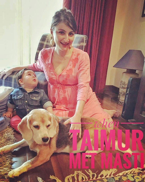 Taimur Turns 1 22 Times Taimur Ali Khan's cutest moments stole the limelight from his star parents! (9)
