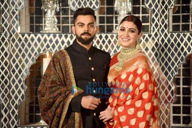 Virat Kohli and Anushka Sharma look ethereal at their Delhi wedding reception-2