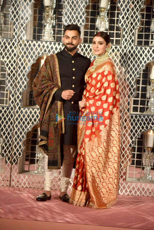 Virat Kohli and Anushka Sharma look ethereal at their Delhi wedding reception-3