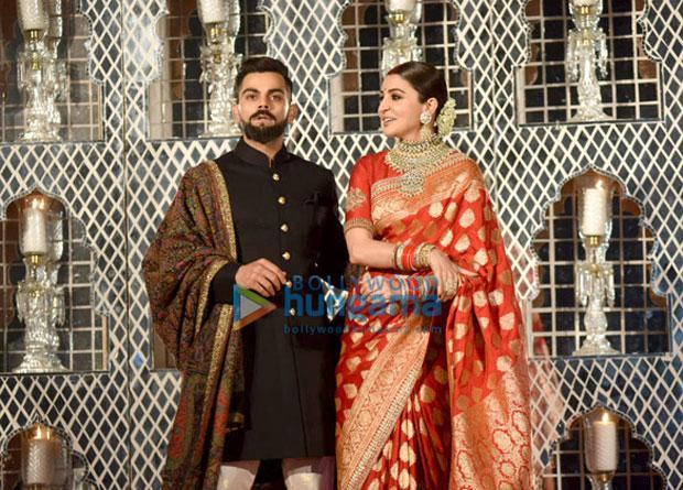 Virat Kohli and Anushka Sharma look ethereal at their Delhi wedding reception-4