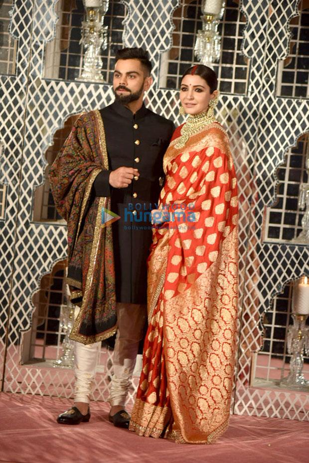 Virat Kohli and Anushka Sharma look ethereal at their Delhi wedding reception-5