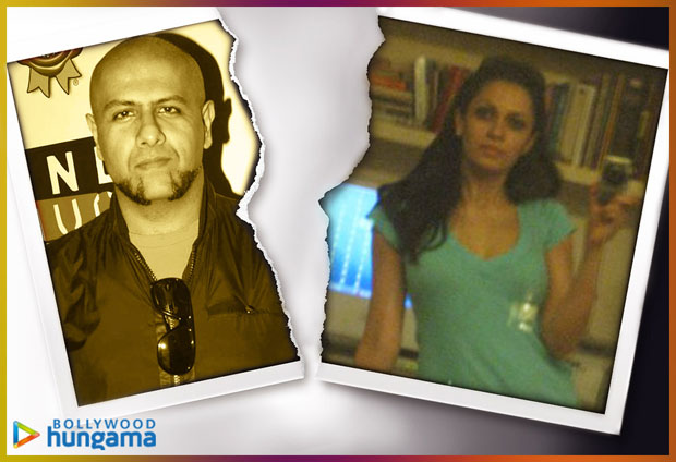 Vishal Dadlani and Priyali