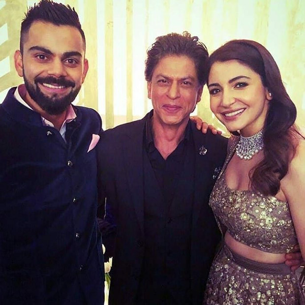 WATCH Shah Rukh Khan makes Virat Kohli dance on Chaiyya Chaiyya; Anushka Sharma does the bhangra