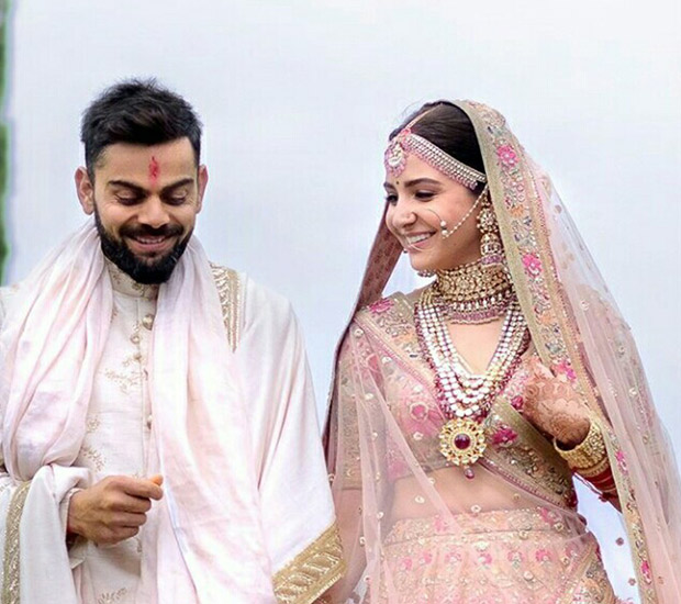 WATCH Virat Kohli left in 'awe' when his bride Anushka Sharma walks down to the aisle (9)