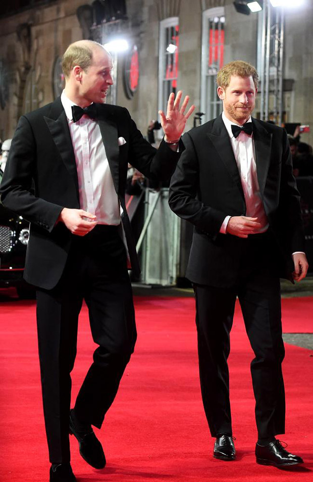 WOAH! Prince William and Prince Harry have a blast at the Star Wars premiere in London (2)