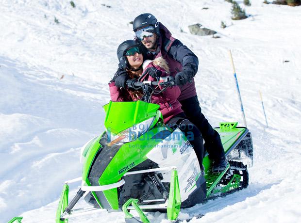 WOW! Salman Khan woos Katrina Kaif on a snow-mobile in Tiger Zinda Hai