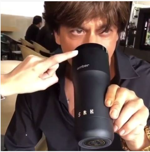 WOW! Shah Rukh Khan's new customised mug is pure swag