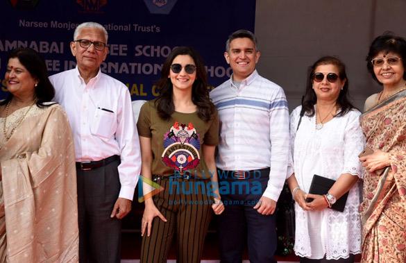 When Alia Bhatt revisited memories at her alma mater Jamnabhai Narsee Monjee