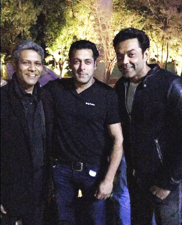Bobby Deol Parties Hard With Salman Khan And Family On 48th Birthday