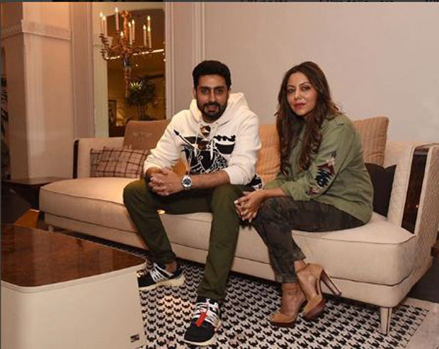 Check out Aishwaand Abhishek Bachchan ended 2017 by visiting Gauri Khan's design store!