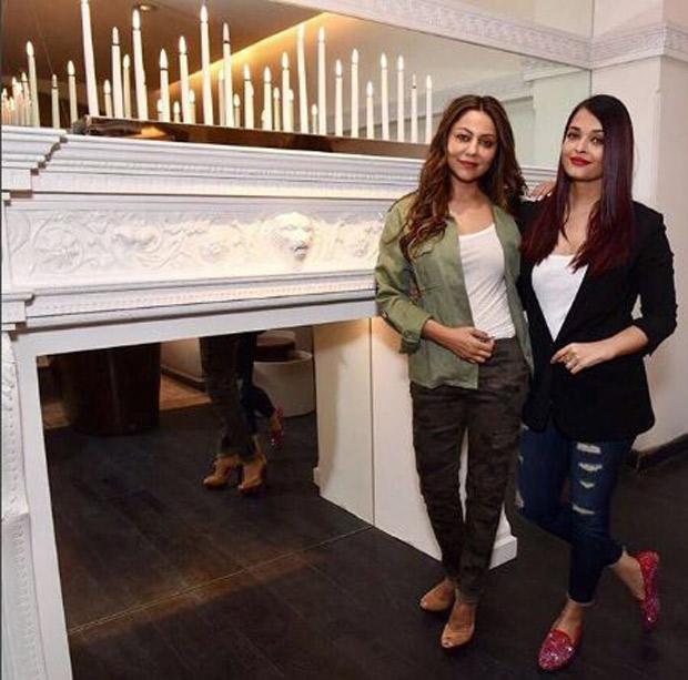 Check out Aishwarya Rai Bachchan and Abhishek Bachchan ended 2017 by Gauri Khan's design store!