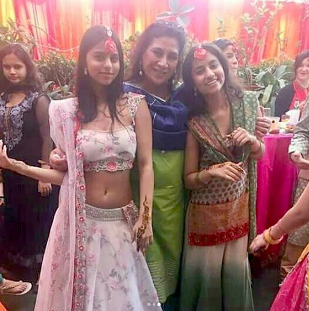Check out Suhana Khan looks beautiful in a lehenga at a family wedding (3)