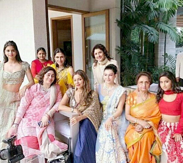 Check out Suhana Khan looks beautiful in a lehenga at a family wedding (4)