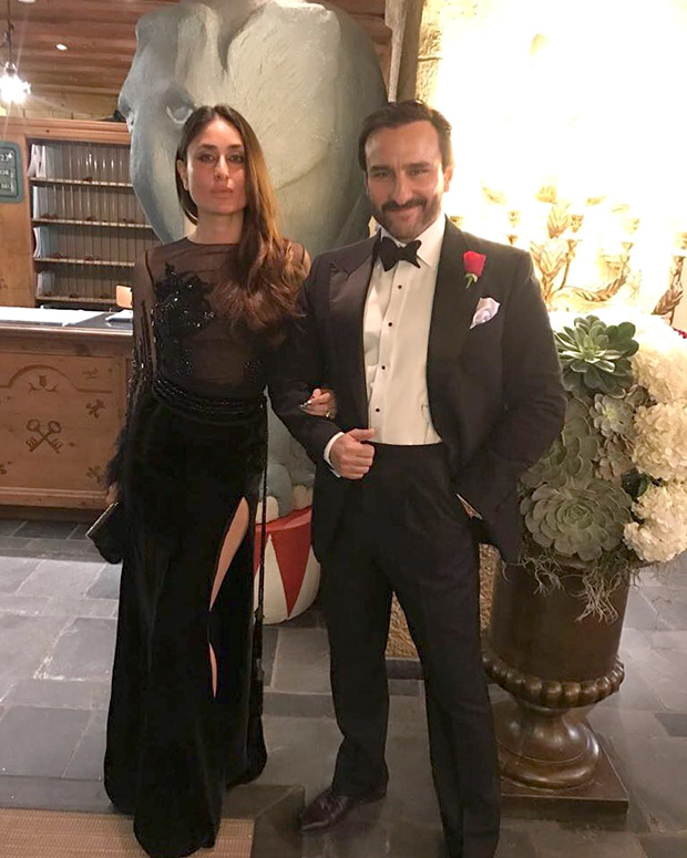 Daily Style Pill Kareena Kapoor Khan has a way with a black dress, nude lips and making an entrance for NYE 2018! (3)