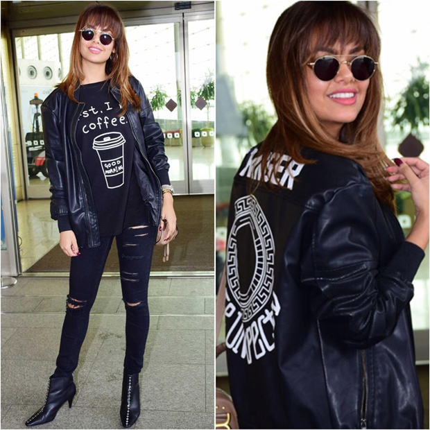 Daily Style Pill Let the fun begin! Esha Gupta rocking the grunge chic style is the best thing to see today! Featured