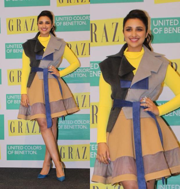 Parineeti Chopra at Grazia February 2018 cover launch