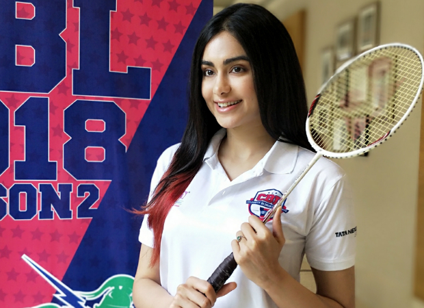 Adah Sharma roped in as the face of Celebrity Badminton League