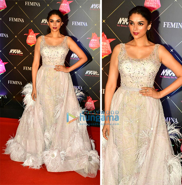 Aditi Rao Hydari at Nykaa.com Femina Beauty Awards 2018
