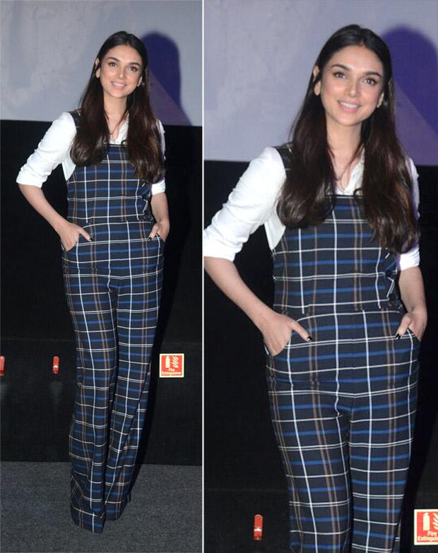 Weekly Best Dressed: Aditi Rao Hydari in a Zara jumpsuit