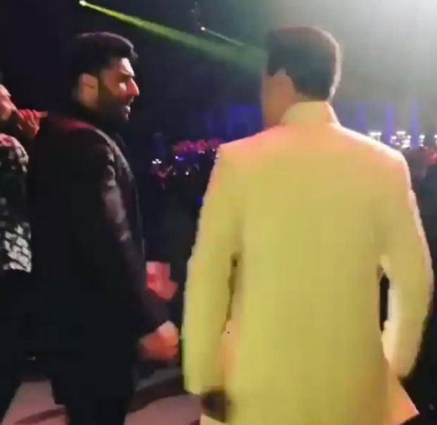 WATCH: Arjun Kapoor and Karan Johar recreate 'Iski Uski' and 'Break Up Song' at Mohit Marwah- Antara Motiwala's wedding