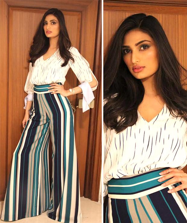 Weekly Best Dressed: Athiya Shetty in a Lola by Suman B ensemble