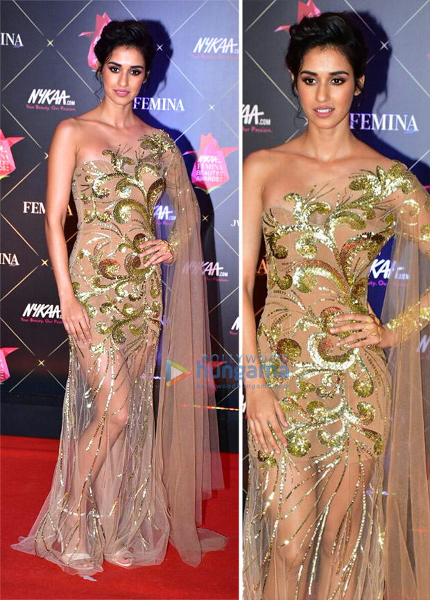 Disha Patani at at Nykaa.com Femina Beauty Awards 2018