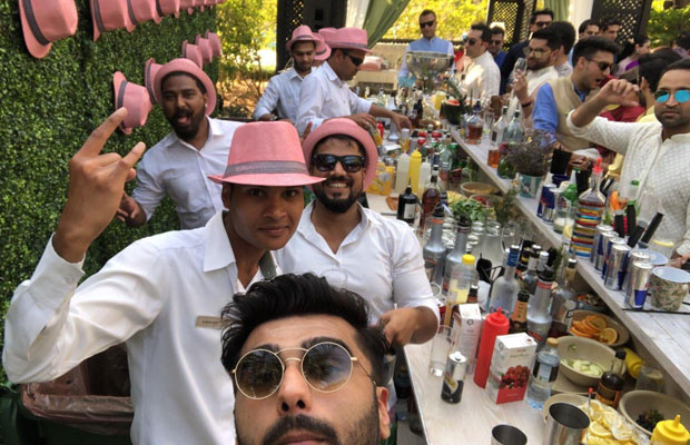 Here's how Arjun Kapoor is having a time of his life at cousin Mohit Marwah's wedding