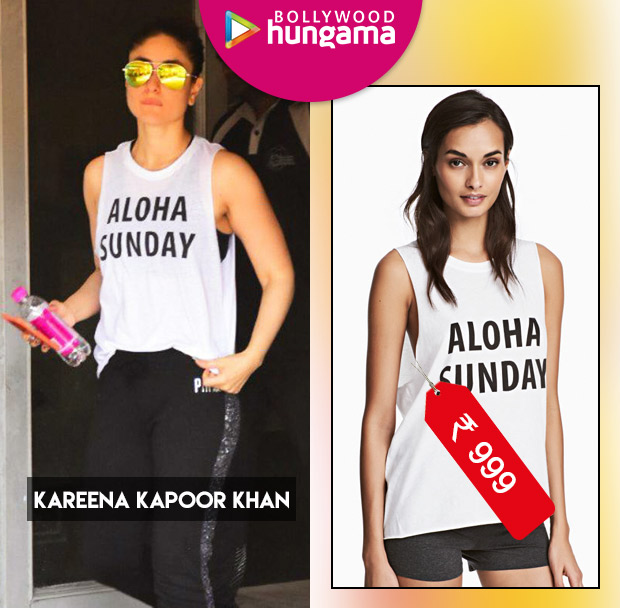 Weekly Celeb Splurges: Kareena Kapoor in H&M