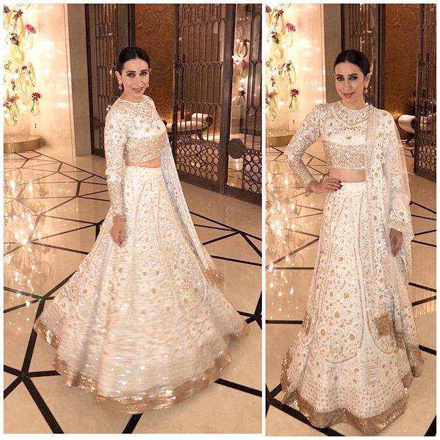 Karisma Kapoor at the Mohit Marwah and Antara Motiwala wedding