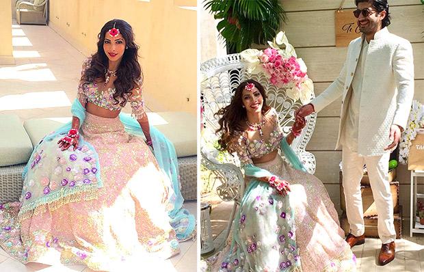 Mohit Marwah and Antara Motiwala pre-wedding festivities in UAE