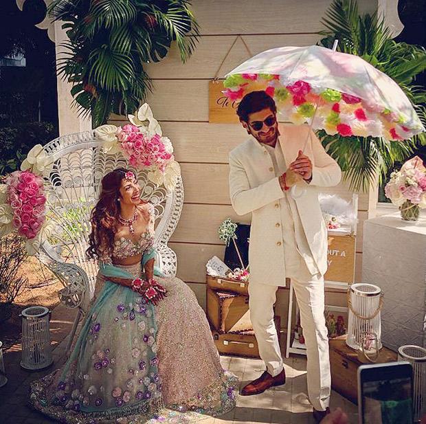 Pre-wedding festivities of Mohit Marwah Antara Motiwala
