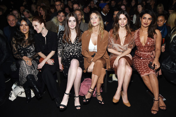Priyanka Chopra looks sinful in her Mandy Moore inspired chocolaty outing at New York Fashion Week