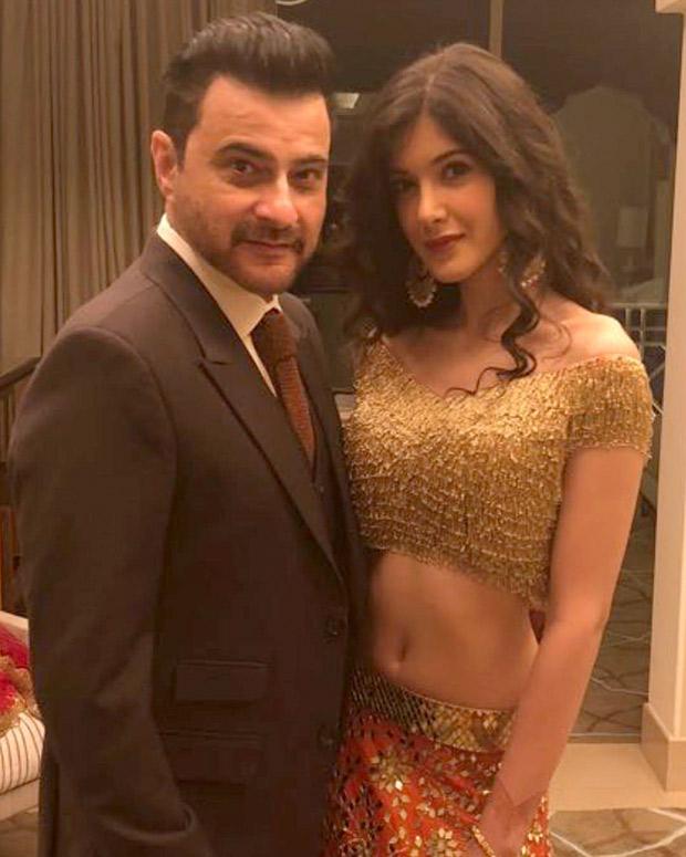 Sanjay Kapoor with daughter Shanaya Kapoor at the Mohit Marwah and Antara Motiwala wedding