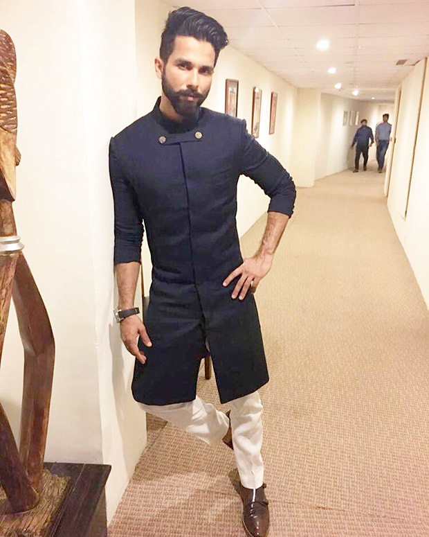 Shahid Kapoor birthday special: In an SS Homme creation for Miss Diva 2017 paegent