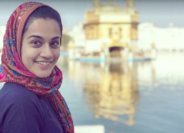 Taapsee Pannu, Vicky Kaushal kickstart Manmarziyaan after seeking blessings at Golden Temple