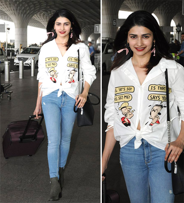 Weekly Airport Style: Prachi Desai