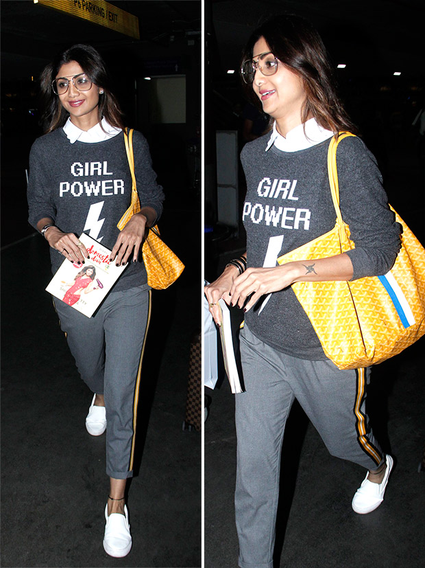 Weekly Airport Style: Shilpa Shetty