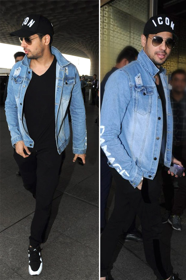 Weekly Airport Style: Sidharth Malhotra