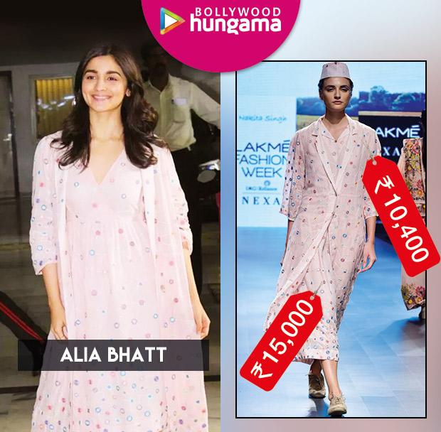 Weekly Celeb Splurges: Alia Bhatt in Nakita Singh
