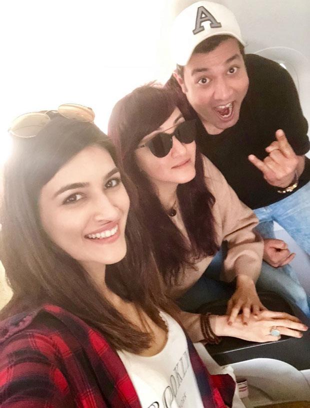 Wohoo! Kriti Sanon kicks off Arjun Patiala and it looks super fun!
