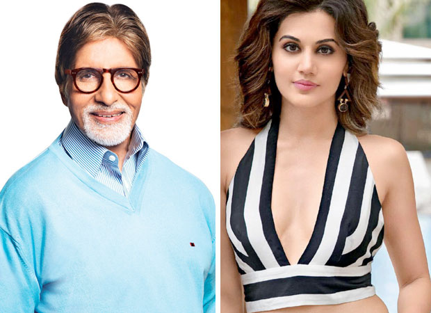 EXCLUSIVE Pink co-stars Amitabh Bachchan and Taapsee Pannu to reunite!